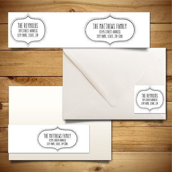 7 best Address Labels images on Pinterest | Address label template ...