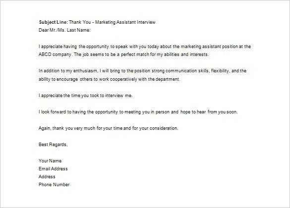 Thank You Letter to Recruiter – 10+ Free Sample, Example Format ...