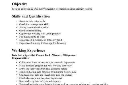 Entry level accounting clerk resume sample, Word Templates, Free ...