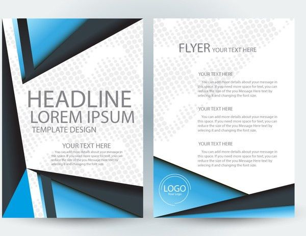 Adobe illustrator flyer template free vector download (217,668 ...