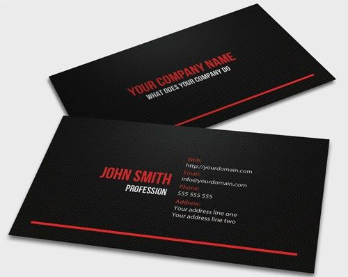 20+ Vertical Business Card Template Word | Free Business Card ...