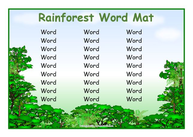 KS2 Rainforests Teaching Resources and Printables - SparkleBox