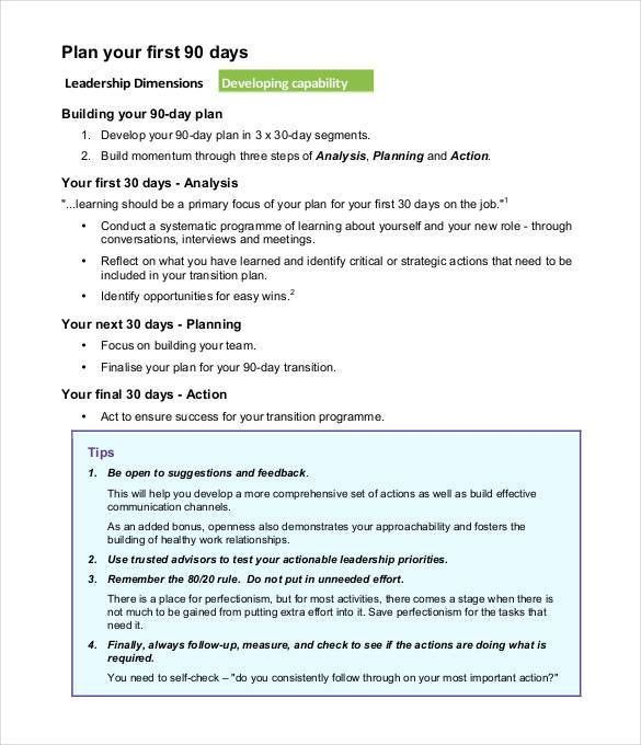 Sample Transition Plan. Transition Project Plan Excel Template ...