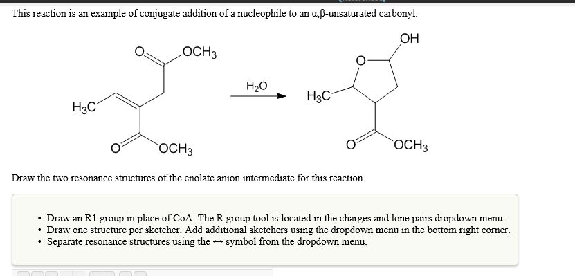 This Reaction Is An Example Of Conjugate Addition ...   Chegg.com
