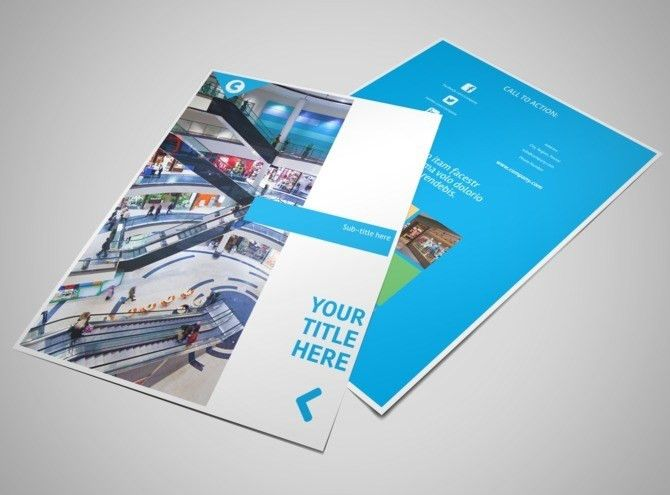 Commercial Real Estate Property Flyer Template | MyCreativeShop