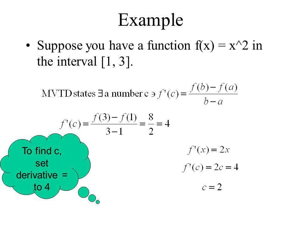 Rolle's Theorem and The Mean Value Theorem - ppt download
