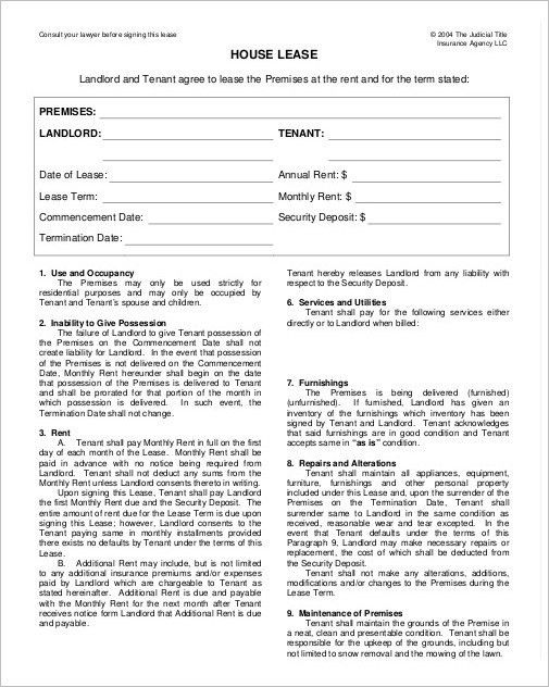 Rental Agreement Form Sample, Example - Creativetemplate ...
