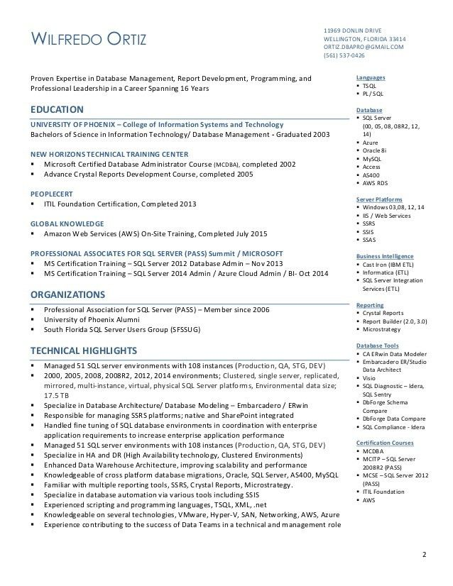 oracle dba sample resumes dba resume example oracle dba resume
