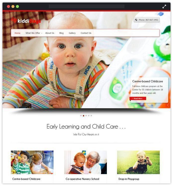 8+ Best Child Care WordPress Themes | InkThemes