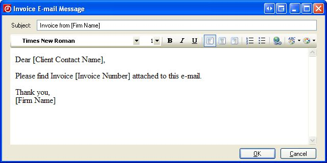 Practice CS: How to email invoices, statements, reports, and letters