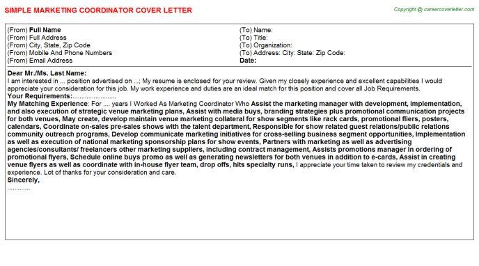 Marketing Coordinator Job Title Docs