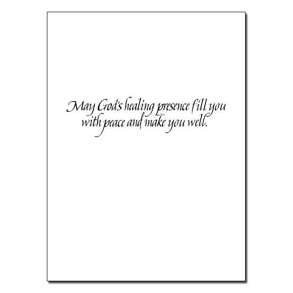 You Are Remembered in Prayer: Get Well Card
