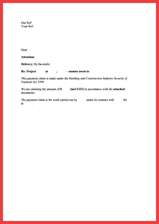 quick cover letter template | memo example