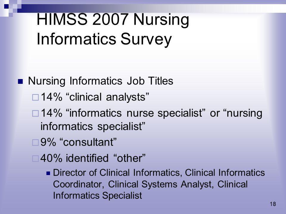 Changing Information of Nursing - ppt video online download