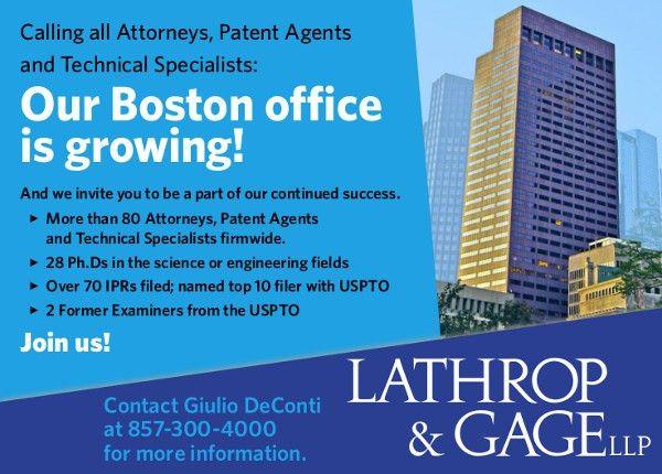 2015 Fall Newsletter - Boston Patent Law Association