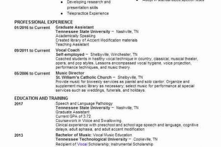 speech pathology resume cover letter