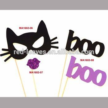 Boo Photo Booth Props Cat Face Mask Free Printable Face Photo ...