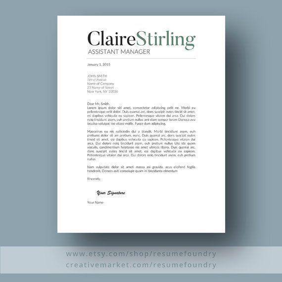 188 best Cover Letter images on Pinterest | Resume ideas, Resume ...