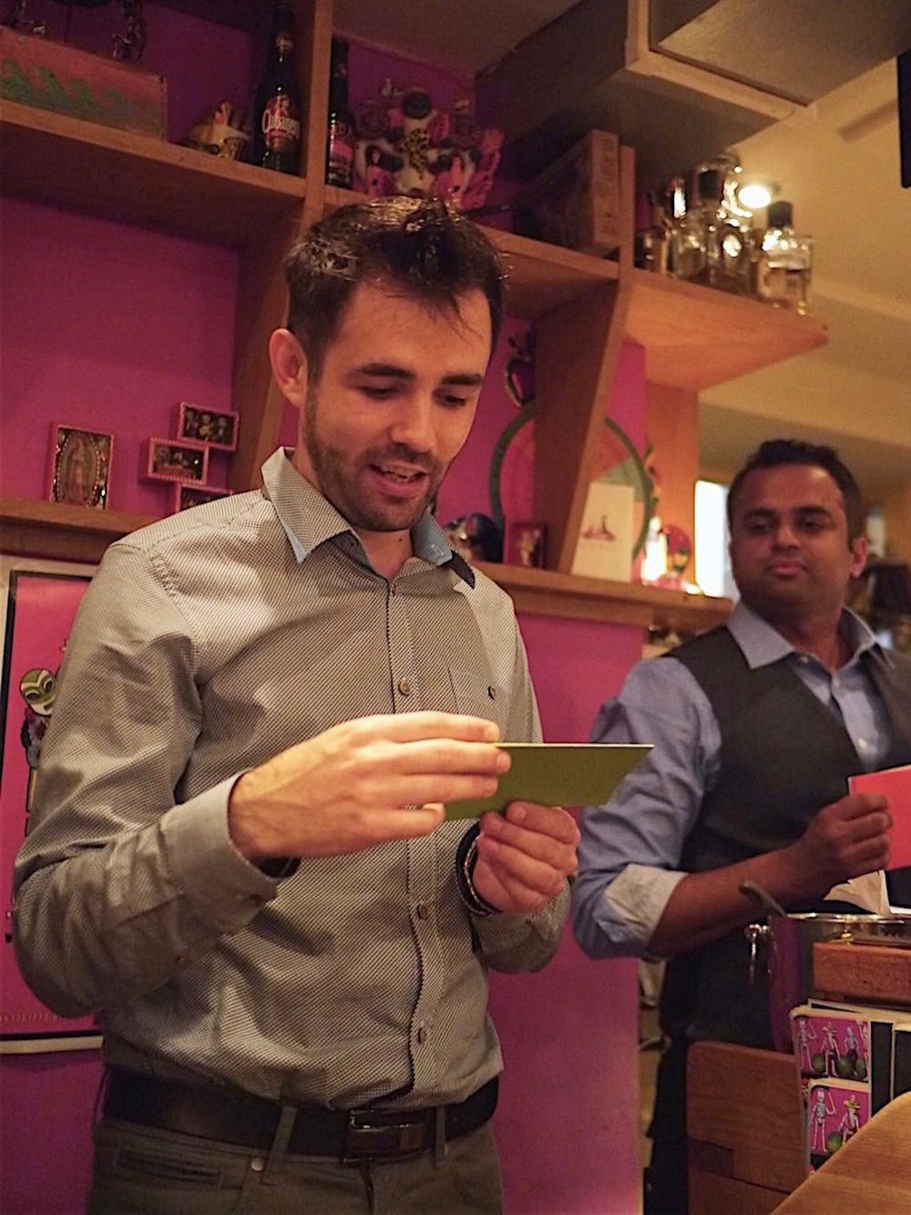 Damian Gomez – Kitchen Manager, The Temple Bar — Curry Leaf Cafe