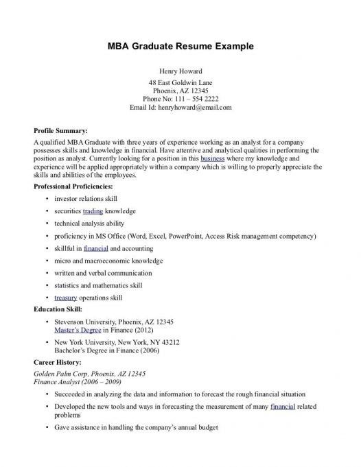 sample resume mba free mba resume template download emba resume ...