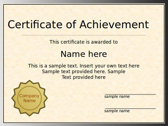 Certificate Template. The Certificate Template Design 02 Vector ...