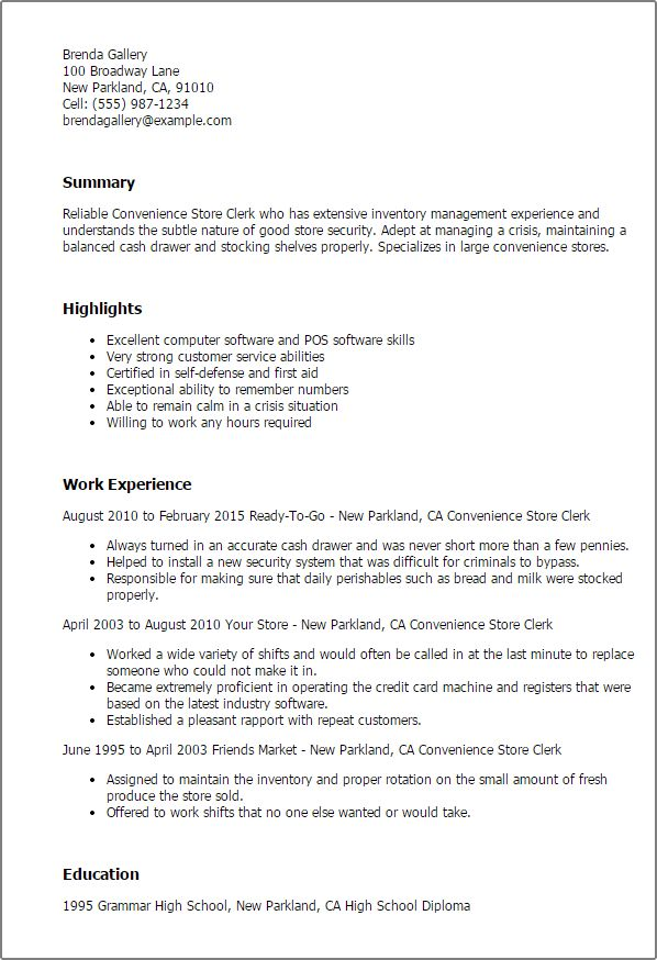 My Perfect Resume Customer Service - Resume Example