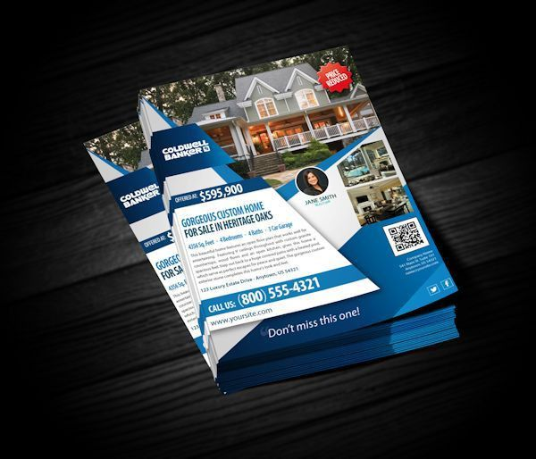 Coldwell Banker Flyers | Realty Cards Printing