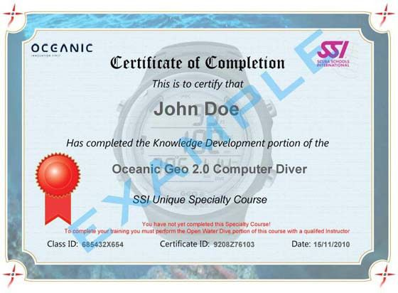 ediving.us • View topic - Oceanic Geo 2.0 Computer Diver - SSI ...