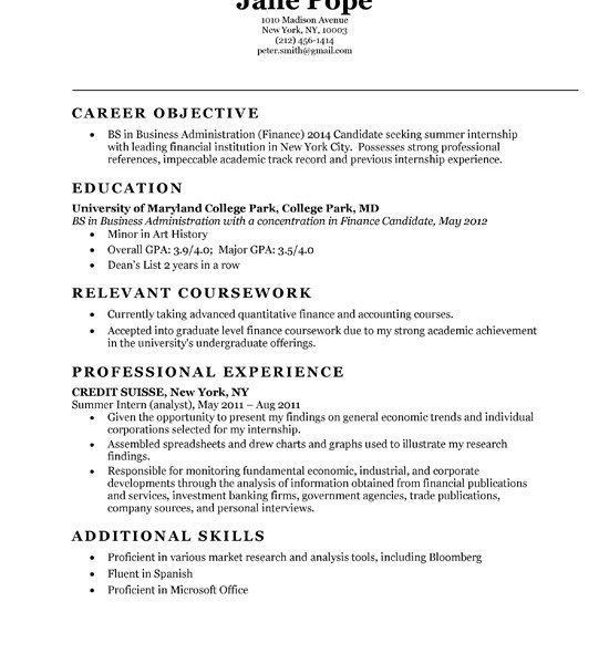 general accounting resume objective click here to download this ...