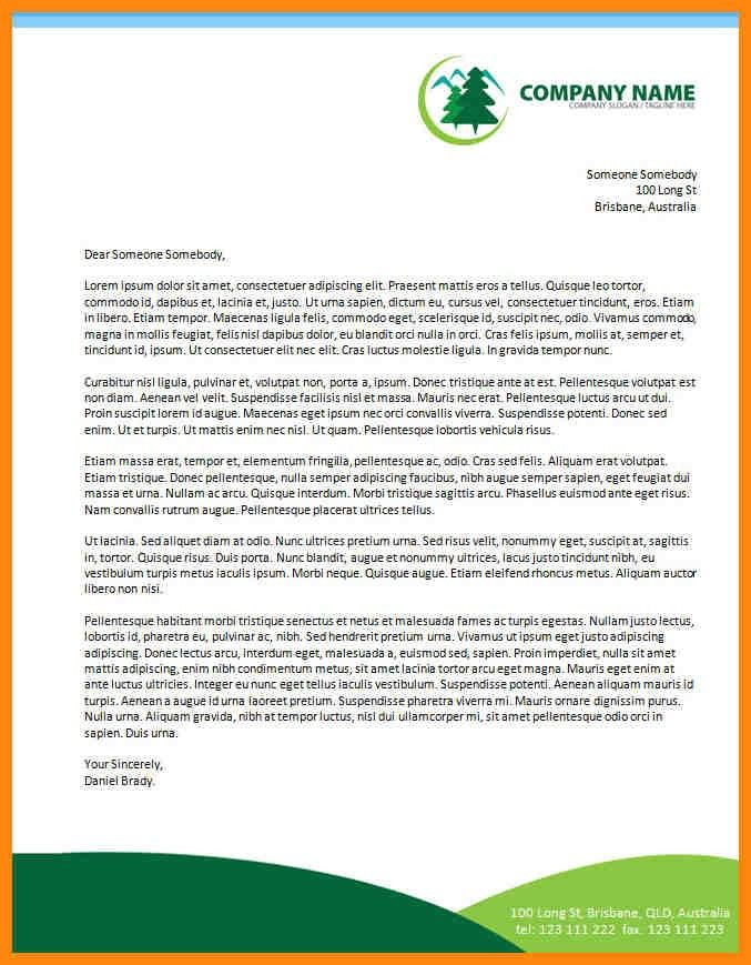 7+ company letterhead format | nurse resumed