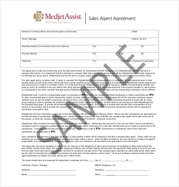 11+ Sales Agreement Templates – Free Sample, Example, Format ...