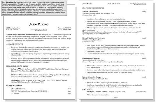 Sample Resume for a Worker with Multiple Layoffs - dummies