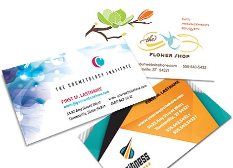 Business Cards - Printable Business Card Templates