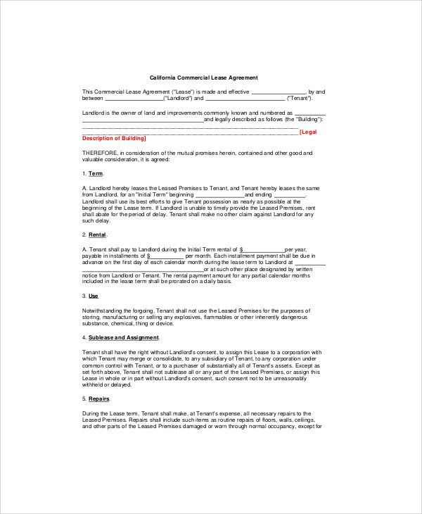 Free Sample Business Agreement Form - 8+ Examples in Word, PDF