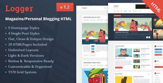 45+ Best Blog Bootstrap Website Templates - Web Creative All