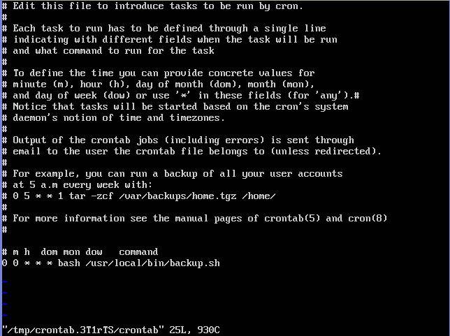 Scheduling Ubuntu Linux Server - w3resource