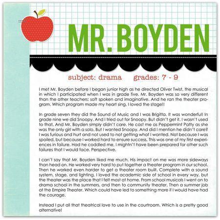 Write. Click. Scrapbook.: teacher appreciation
