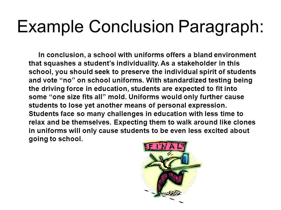 How to Write a Concluding Paragraph - ppt video online download