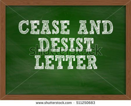 Free Cease And Desist Letter   Samples.csat.co