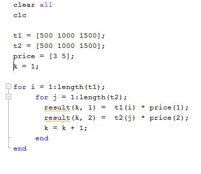 "How can I get rid of excess ""for loop"" - MATLAB Answers - MATLAB ..."