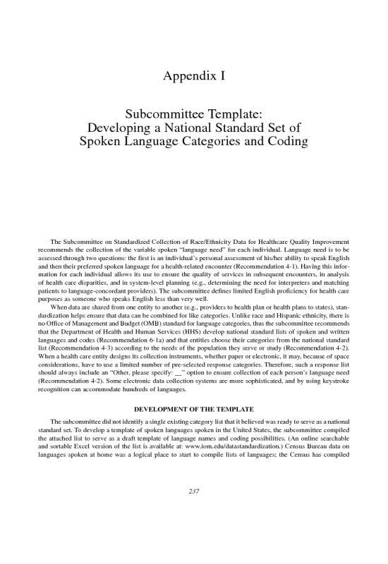 Research paper appendix