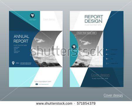 Vector Brochure Flyer Template Layout A4 Stock Vector 571854376 ...