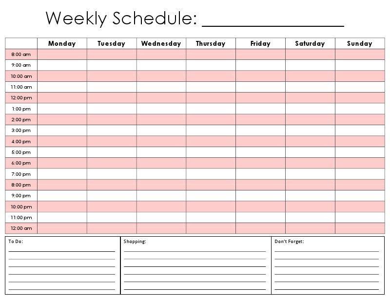 Best 25+ Weekly planner template ideas on Pinterest | Weekly ...