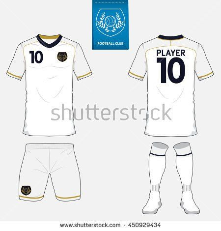Soccer Jersey Football Kit Collection World Stock Vector 695878681 ...