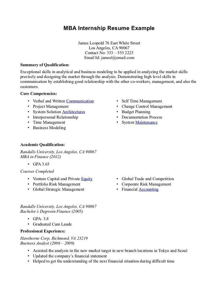 25 Best Ideas About Resume Objective Examples On Pinterest Good ...