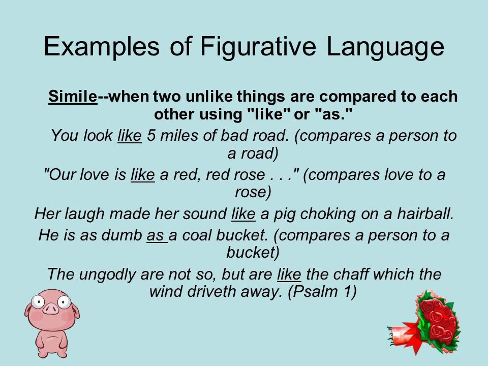 Figurative Language and Descriptive Writing - ppt video online ...