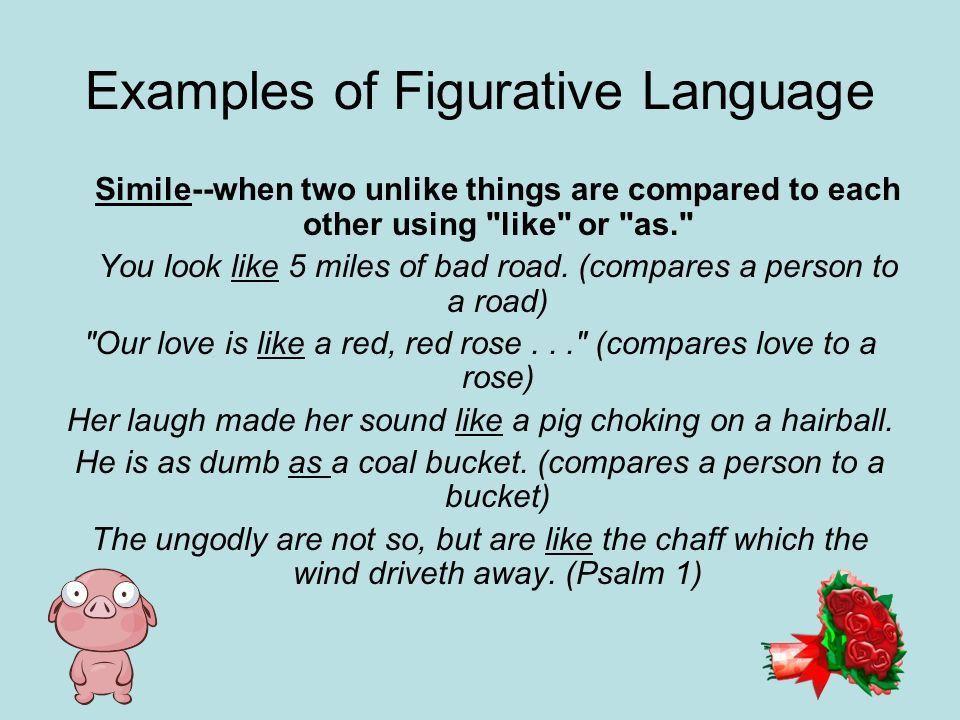 Figurative Language and Descriptive Writing - ppt video online ...