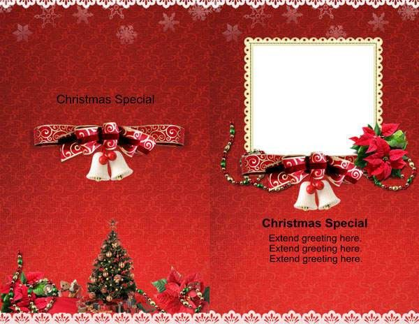 Christmas Cards Templates (10) - Coloring Kids
