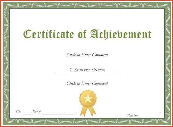 FREE PRINTABLE CERTIFICATE TEMPLATES.Award Templates With Gold ...