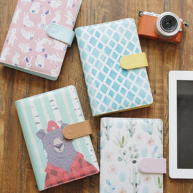 Aliexpress.com : Buy Loose leaf aesthetic print faux leather a5a6 ...